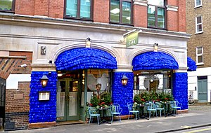 The Ivy - The Ivy Cafe in Marylebone Lane, November 2016