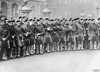 London Scottish (regiment) - The London Scottish during the First World War, 1914