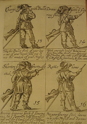 Thomas Jenner (publisher) - Illustration from The Military Discipline wherein is Martially Showne the Order for Drilling the Musket and Pike, published by Thomas Jenner, London 1642