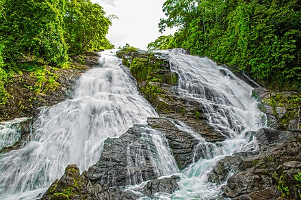 The Milky Charpa Falls, Chalakudy - Tourism in Kerala