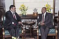 The Minister of Commerce, Bangladesh, Mr. Tofail Ahmed meeting the Union Minister for Commerce & Industry, Shri Anand Sharma, in New Delhi on January 18, 2014.jpg