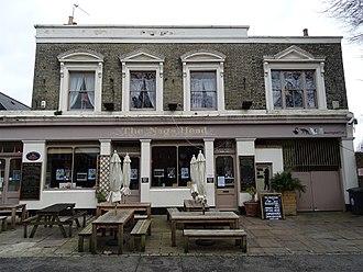 Walthamstow - The Nag's Head in Orford Road, Walthamstow Village