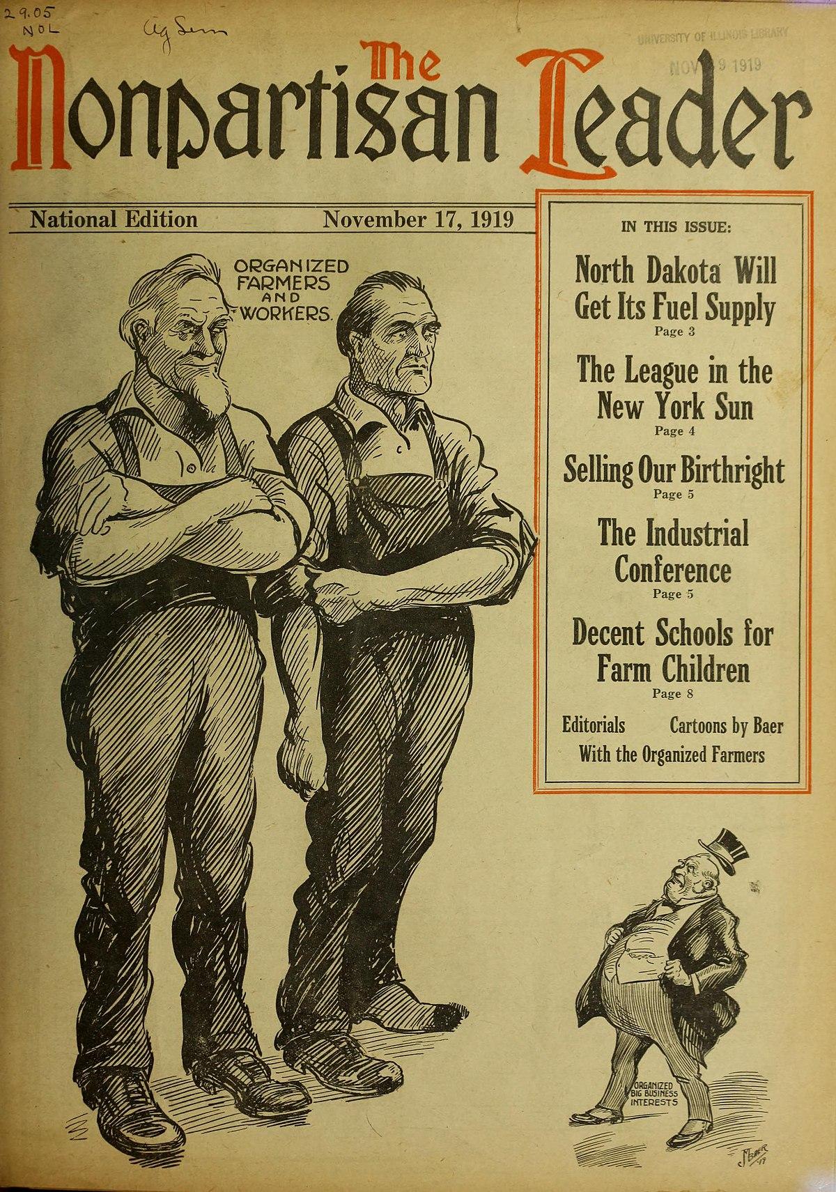 Nonpartisan League - Wikipedia