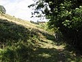 The Pilgrims Way along the bottom edge of the North Downs escarpment - geograph.org.uk - 988532.jpg