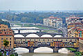 The Ponte Vecchio and other bridges over the Arno River.jpg
