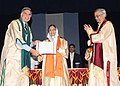 The President, Smt. Pratibha Devisingh Patil presented the degree of Doctor of Science (Honoris Causa) to Shri Ratan Tata, at the 46th convocation of the Indian Institute of Technology, Bombay, in Mumbai on August 8, 2008.jpg