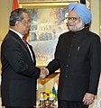The Prime Minister, Dr. Manmohan Singh meeting the Deputy Prime Minister of Malaysia, Tan Sri Dato' Haji Muhyiddin Bin Mohd.Yassin, in Kuala Lumpur Malaysia on October 28, 2010.jpg