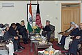 The Prime Minister, Shri Narendra Modi meeting the former President of Afghanistan, Mr. Hamid Karzai, in Kabul, Afghanistan on December 25, 2015 (1).jpg