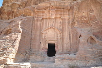 Nabataean architecture - Image: The Renaissance Tomb (12293951654)
