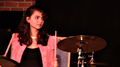 The Stroppers (band) drummer Jasmina Bonilla.png