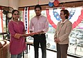 The U.S Consulate Chennai celebrated its two-year anniversary on Facebook with U.S. Consul General Jennifer McIntyre, actors Bharath Srinivasan and Jeyam Ravi22.jpg