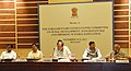 The Union Minister for Rural Development, Panchayati Raj, Drinking Water and Sanitation, Shri Chaudhary Birender Singh chairing the Parliament Consultative Committee meeting on Rural Development, Panchayati Raj.jpg