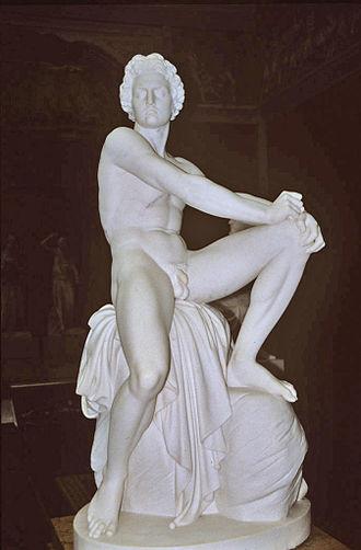 Herman Wilhelm Bissen - Image: The Wrathful Achilles (1864 66)