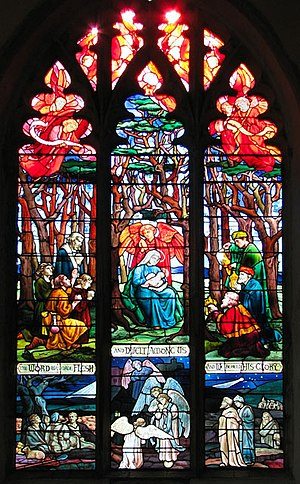 Mary Lowndes - Image: The church of SS Peter and Paul in Shropham stained glass geograph.org.uk 1761429