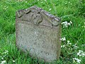 The church of St Maurice - C18 headstone - geograph.org.uk - 859313.jpg