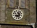 The clock on St Matthew's Broomhedge - geograph.org.uk - 1415335.jpg
