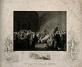 The death of William Pitt, Lord Chatham, in the Upper Chambe Wellcome V0006704.jpg