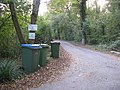 The ever present wheelie bin on entrance to Doves Farm and Spithandle Barn - geograph.org.uk - 1552919.jpg