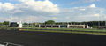 The finish line at the Arlington Million at Arlington International Racecourse, Chicago, Illinois.png