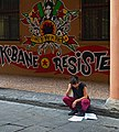 The girl-student. Bologna, Italy.jpg