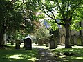 The graveyard of St Andrew's Church - geograph.org.uk - 851049.jpg