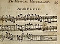 The musical miscellany - being a collection of choice songs, set to the violin and flute, by the most eminent masters (1729) (14766427182).jpg