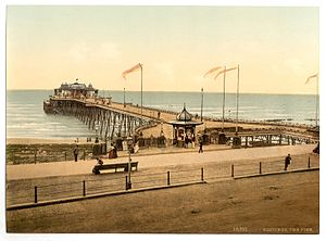 Hastings Pier - An early view of the pier