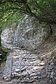 The polished stone footpath leading up to the fortress of Mystra.jpg