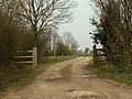 The road to Weirstock Farm - geograph.org.uk - 777012.jpg