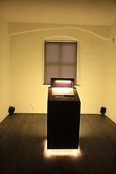 The room in which Melanchthon died, Melanchthon's house. Wittenberg (Source: Wikimedia)