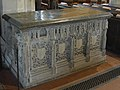 The tomb of Sir William Vernon and his wife, Margaret Swynfen in Tong church, Shropshire.jpg