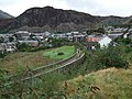 The viaduct and trackbed of former railway line at Blaenau Ffestiniog - geograph.org.uk - 1478829.jpg