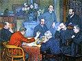 Theo van Rysselberghe- A Reading by Emile Verhaeren.jpg