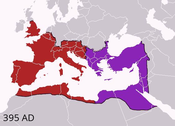 Theodosius I's empire