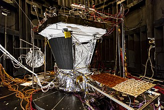 Spacecraft thermal control - Parker Solar Probe in thermal testing