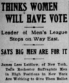 Thinks Women Will Have Vote, James Lees Laidlaw.png