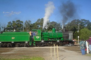 Thirlmere, New South Wales - Image: Thirlmere Steam Engine