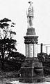 Thirroul War Memorial 1920 before unveiling.jpg