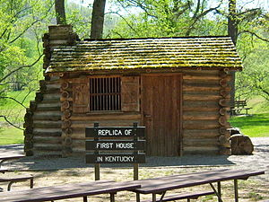 Dr. Thomas Walker State Historic Site - Replica of Thomas Walker's cabin