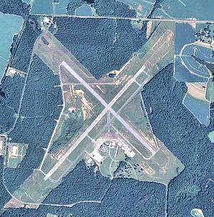 Thomasville Regional Airport - USGS 2006 orthophoto