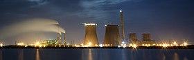 Thoothukudi Thermal Power Station at Night 1 crop (cropped).jpg