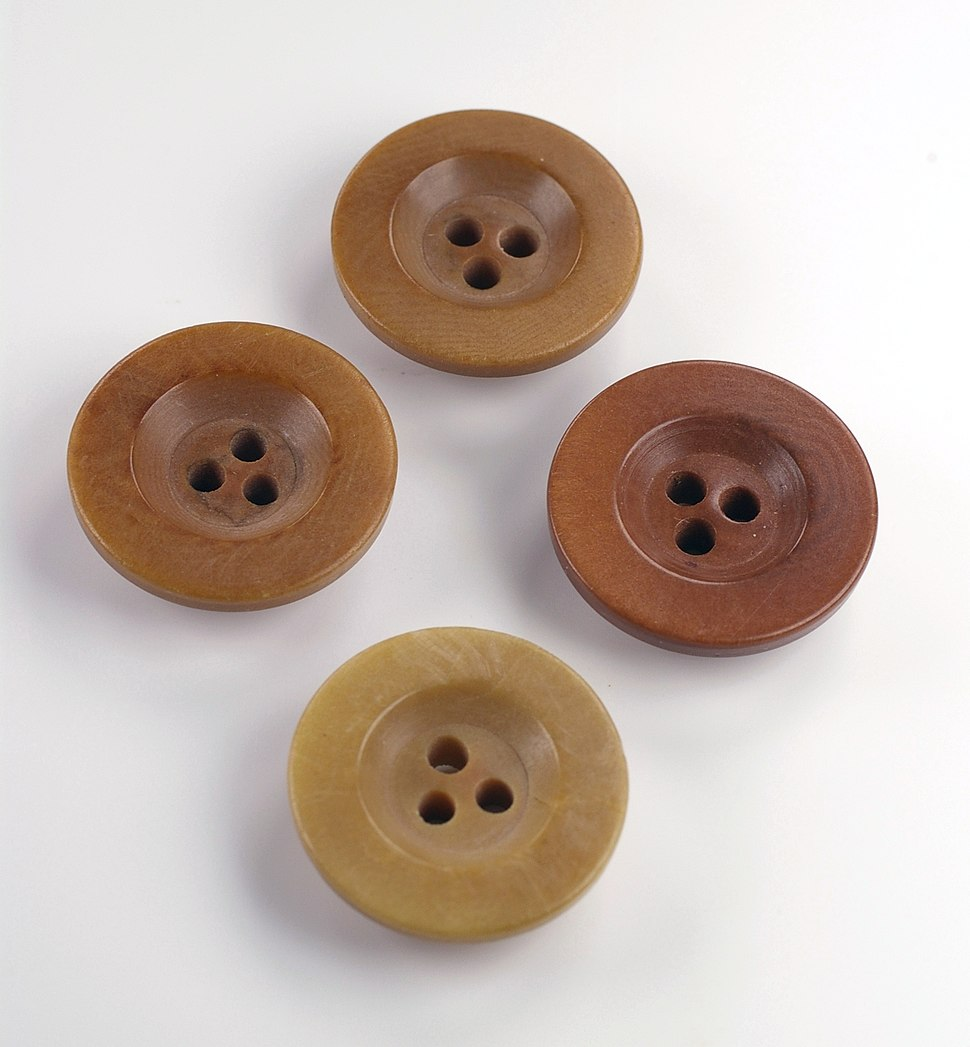 Three holes buttons