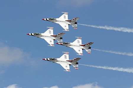 USAF Thunderbirds in Denmark