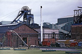 Thurcroft Colliery Yorkshire coal mine
