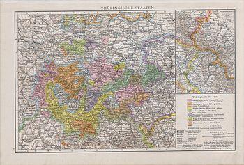 Thuringische staaten1890