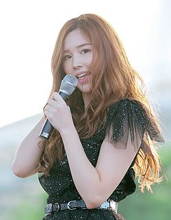 Tia of Chocolat at Incheon Munhak Stadium in 2013 23.jpg