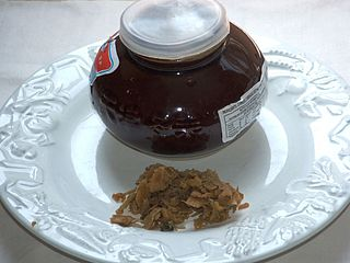 Tianjin preserved vegetable A type of pickled Chinese cabbage originating in Tianjin, China