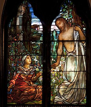 Clara Weaver Parrish - Tiffany windows designed by Parrish circa 1890s for St. Paul's Episcopal Church in Selma.