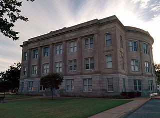 Tillman County Courthouse United States historic place