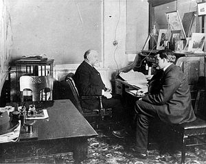 John Craig Eaton - With his father in 1899